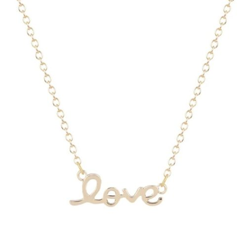 Collier Love.Collier tendance 2018. Collier fantaisie pas cher. Collier créáteur france