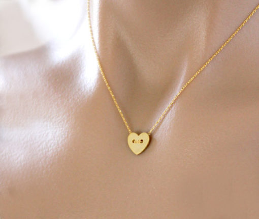 collier coeur pas cher