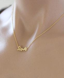 collier love pas cher
