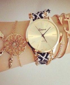 Bracelet bresilien montre