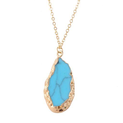 Collier Boheme turquoise