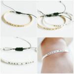 bracelet porte bonheur argente