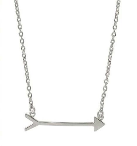 collier flêche argenté- bijoux flêche
