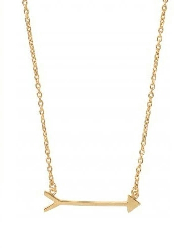 collier flêche doré- bijoux flêche
