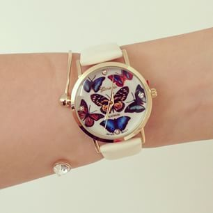 Montre papillon montres fantaisie