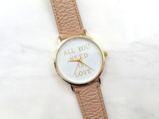 montre all you need is love.Montre pour femme/fille/ petite amie/ fiancée/ epouse