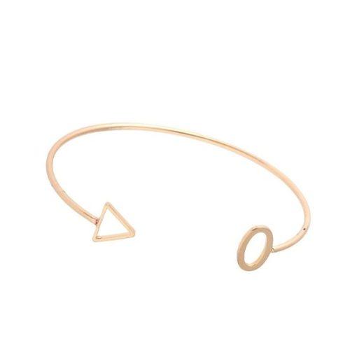 Bracelet flèche or