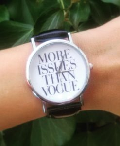 Montre more issues than vogue. Montre tendance 2016