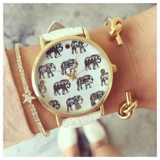 Montre tendance 2017 éléphant . Decouvrez montres fantaisies tendance 2016 pour femme-
