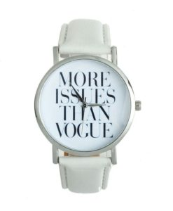 Montre tendance 2017 cuir. mONTRE MORE ISSUES THAN VOGUE
