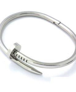 Bracelet clou argent pas cher