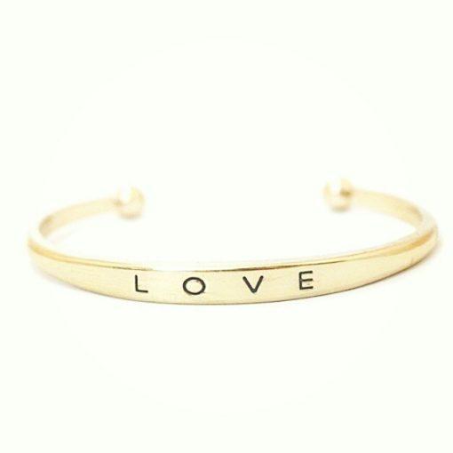 bracelet jonc love tendance 2016. Bijoux fantaisie de createurs
