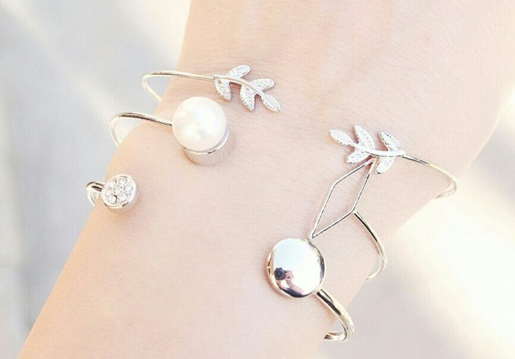bracelet argent tendance femme
