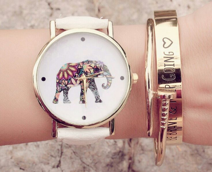 bracelet montre elephant. Black Bedroom Furniture Sets. Home Design Ideas