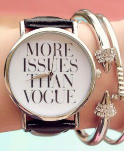 Montre vogue tendance 2017
