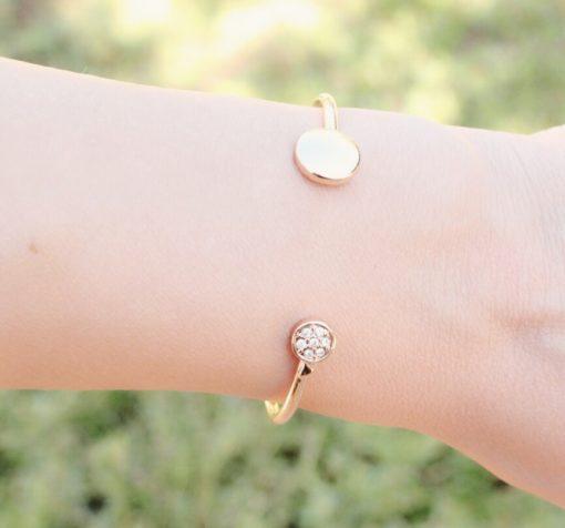 Bracelet jonc cristal 2017