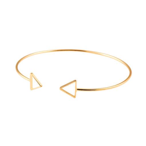 Bracelet jonc fleche or. Bijoux tendance 2017