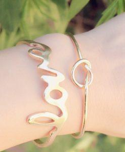 Bracelet jonc love tendance