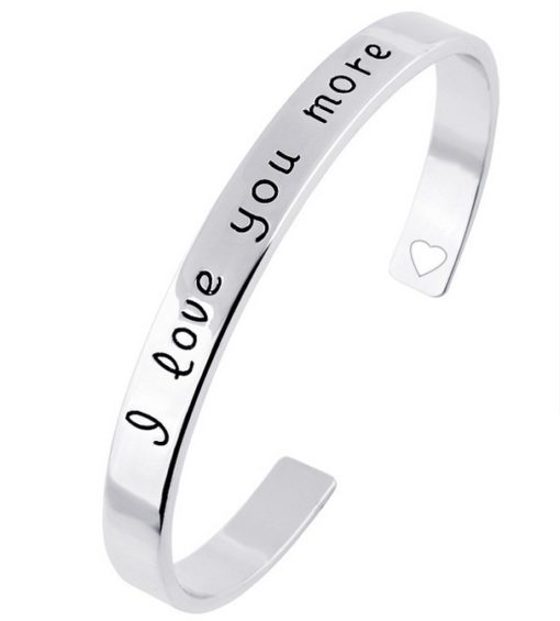 Bracelet love 2017 argent