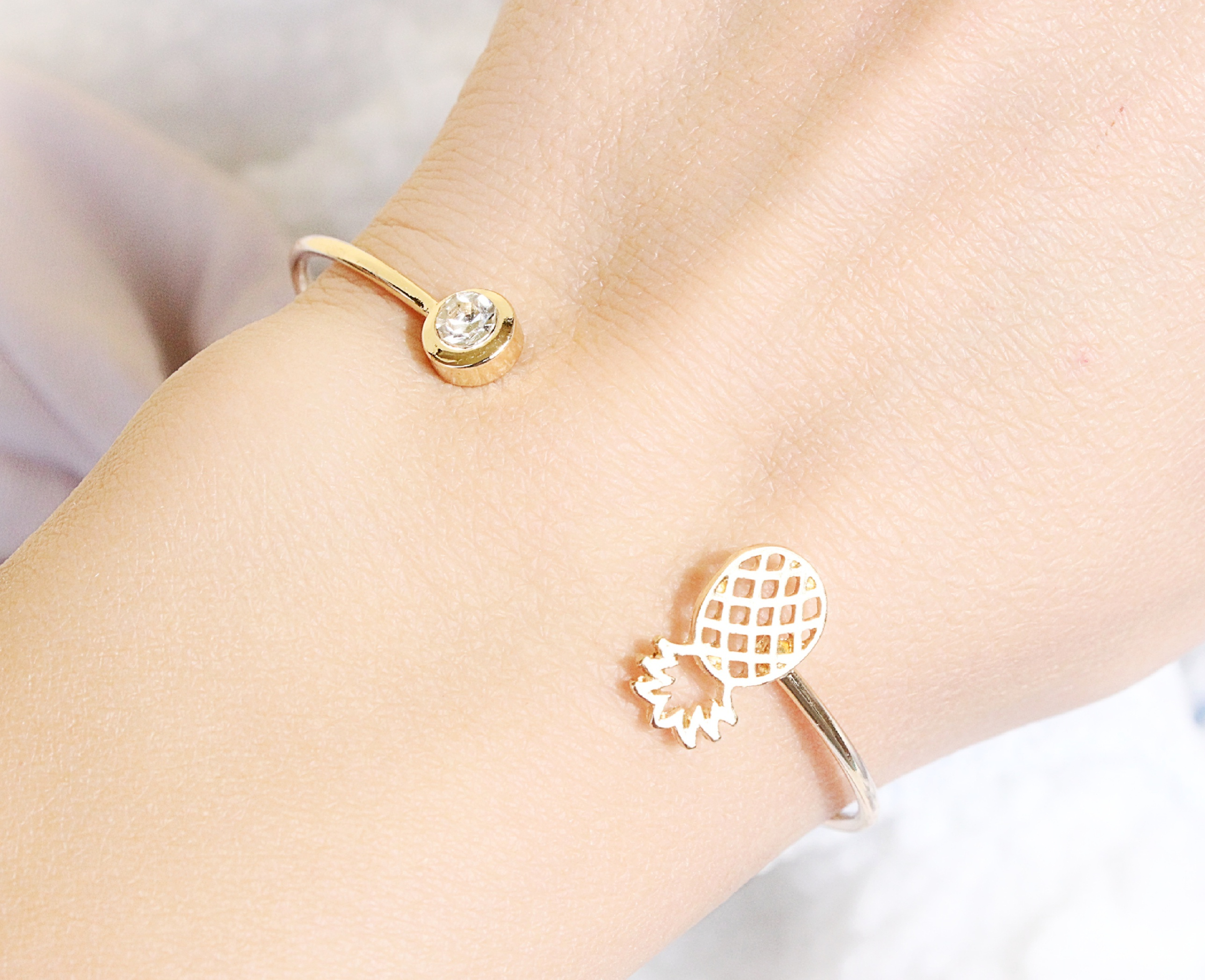 Bracelet créateur tendance 2016 or