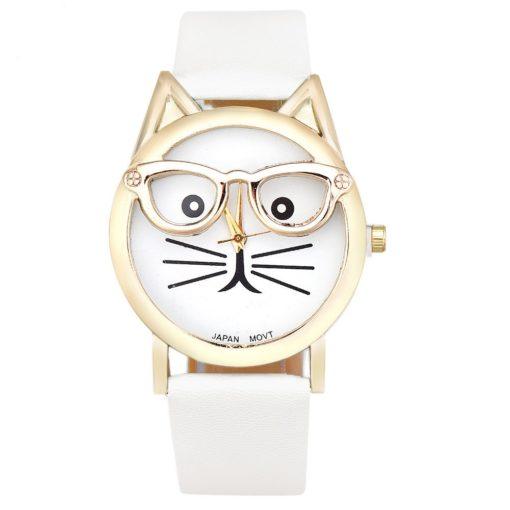 Montre chat lunettes tendance 2017
