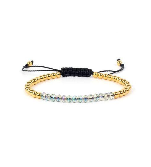 bracelet swarovski cordon tendance 2018 bijoux fantaisie pas cher. Black Bedroom Furniture Sets. Home Design Ideas