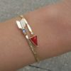 Bracelet flêche émaillée boheme
