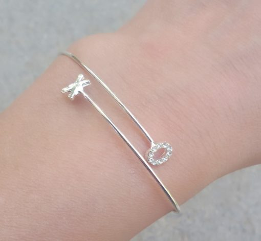 Bracelet minimaliste xo love