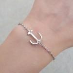 bracelet ancre argent 2016