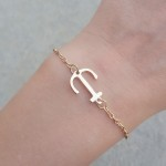 bracelet ancre or 2016