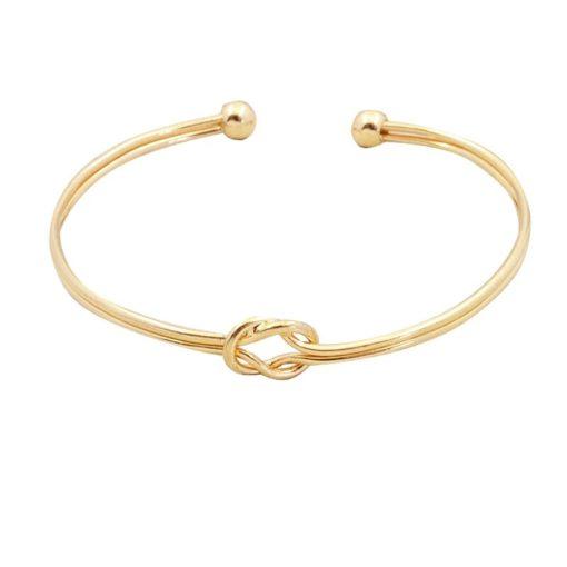 bracelet double noeud 2018.Idees cadeaux bijoux femme. Bijoux tendance 2017. Bracelet tendance 2017