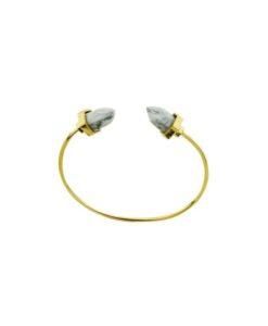 Bracelet Géométrique doré