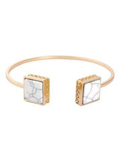 Bracelet géométrique 2018 marbre