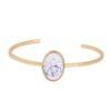 Bracelet géométrique marbre Anne 1