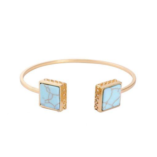 Bracelet géométrique turquoise 2018