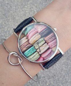 Montre Macaron - Bijoux gourmand