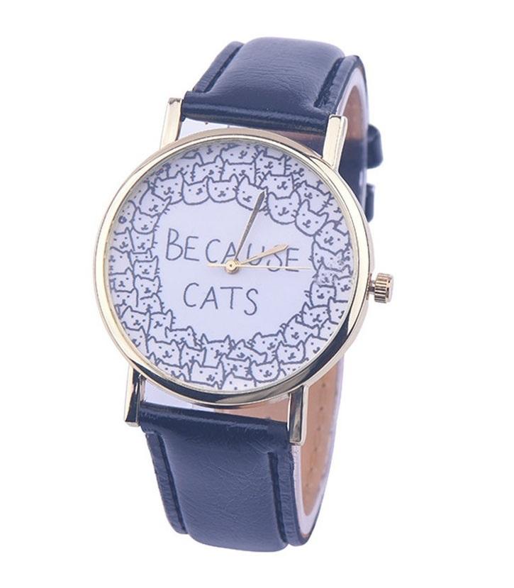 Montre chat tendance 2018