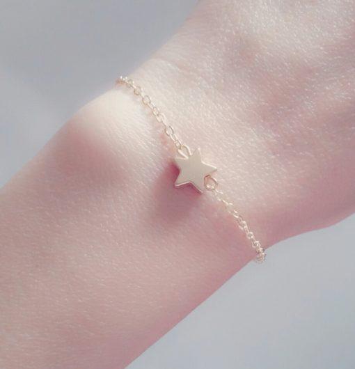 Bracelet étoile or