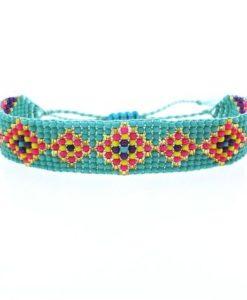 Bracelet bohème turquoise 2018