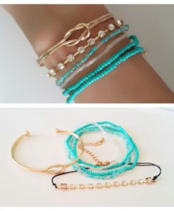 Ensemble de 6 bracelets tendance 2018