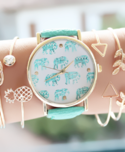Montre tendance 2018 elephants
