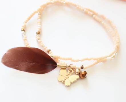 bracelet,plume,tendance,2018,swarovski,2
