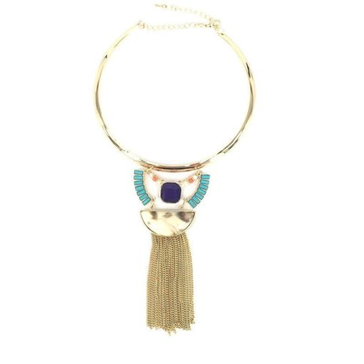 Collier marbre lune or 2018