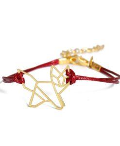 Bracelet cadeau femme Origami