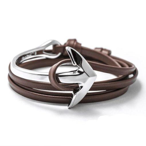 Bracelet cadeau femme ancre