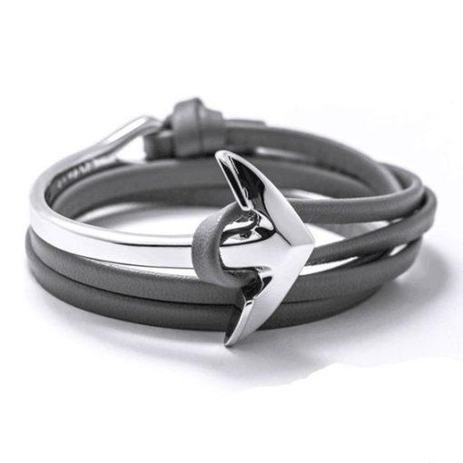 Bracelet cadeau femme gris