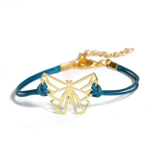 Bracelet cadeau femme papillon