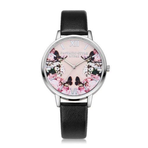 Idee cadeau femme- montre noire
