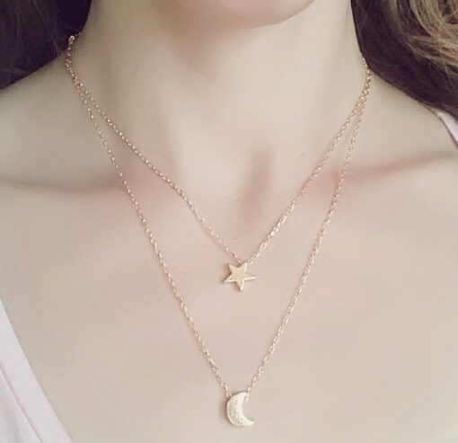 collier-multi-rangs-etoile-lune-or-2018