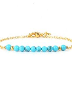 Bracelet cadeau femme turquoise